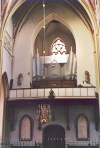 Verschueren/Loret orgel Dinther. Restauratie