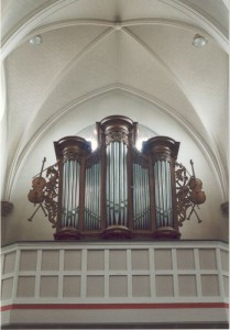 Vermeersch orgel Hintham. Revisie