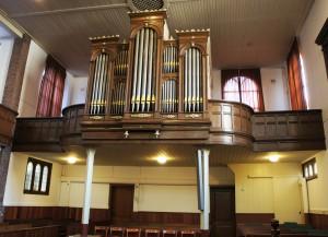Rutter orgel Schiedam. Revisie en uitbreiding met Fagot !6'