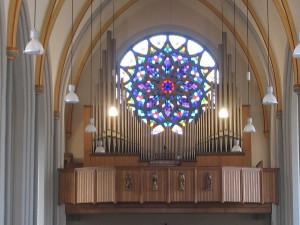Vermeulen orgel Swalmen. Revisie/uitbreiding met Bazuin 16'