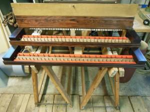 Restauratie mechanieken en klavieren.