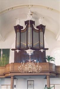 Verschueren orgel Fijnaart. Revisie geoxideerd tongwerk.