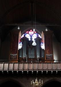 Verschueren orgel Goirle. Revisie geoxideerde tongwerken.