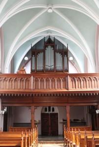Stahlhut & Sohn orgel Klooster Grubbenvorst. Deelrevisie.