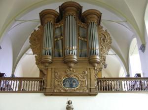Franssen/Gradussen orgel klooster Megen. Revisie.
