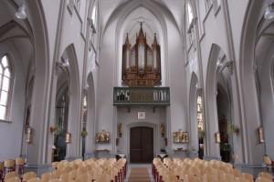 Gradussen orgel parochiekerk Megen. Deelrestauratie.