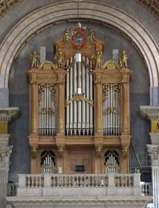 Verschueren orgel Oudenbosch. Revisie geoxideerde tongwerken.