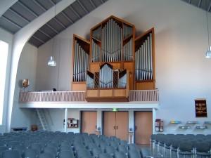 F&G orgel Vlaardingen. Revisie en herintonatie.