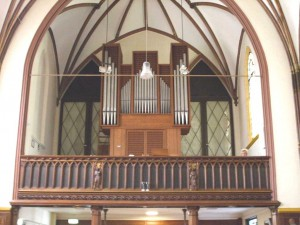 Verschueren orgel Tilburg. Revisie.