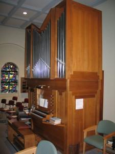 Pels orgel Uden Retraitehuis-revisie windvoorziening