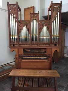 Van Vulpen orgel verhuisd van Eindhoven naar Gendt